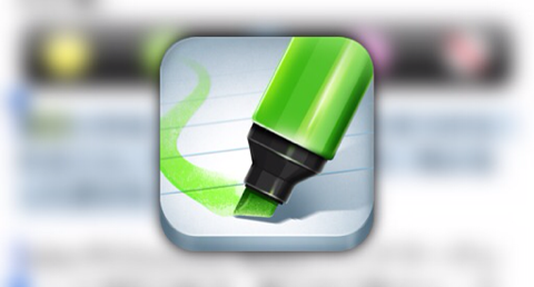 iPhone版Evernote Clearly!?ハイライトを付けて綺麗にクリッピング出来る「Lightly」